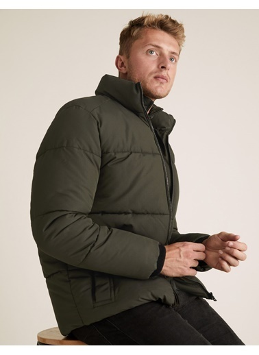 Marks & Spencer Stormwear™ Pufa Mont Yeşil